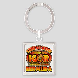 igor_cp_bermuda Square Keychain