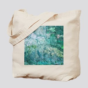 Aqua gardens Tote Bag