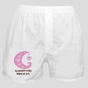 HelpOutPink Boxer Shorts