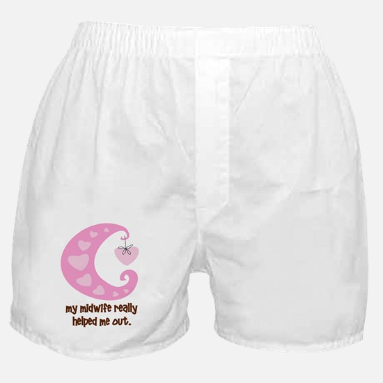 HelpOutPink Boxer Shorts