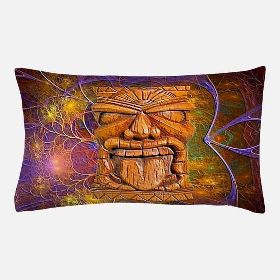 Tiki God Pillow Case