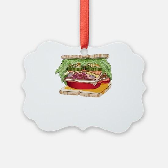 Ham Sandwiches Ornament