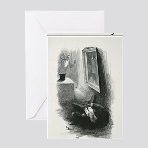 dorian gray book cover PNG Greeting Card