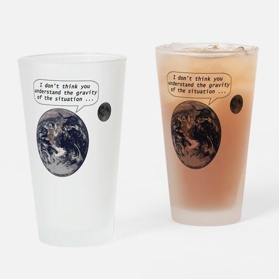 gravityofsituation Drinking Glass