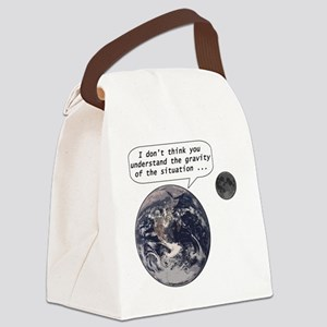gravityofsituation Canvas Lunch Bag