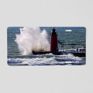 0001-Lighthouse (110) Aluminum License Plate