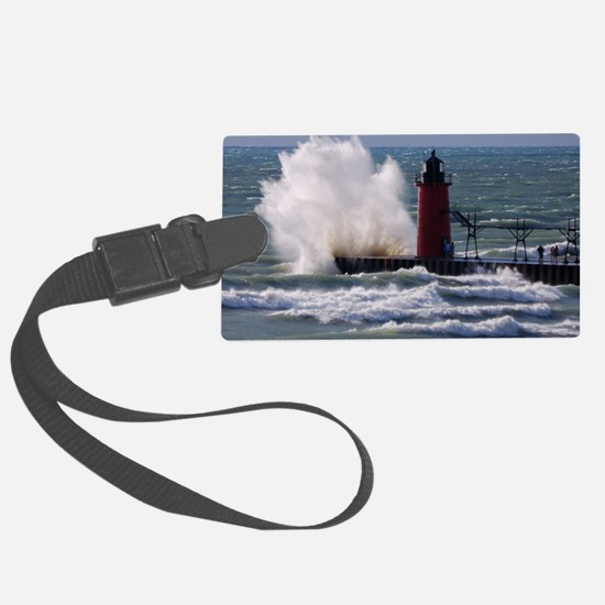 0001-Lighthouse (110) Luggage Tag