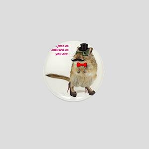 funny hampster Mini Button