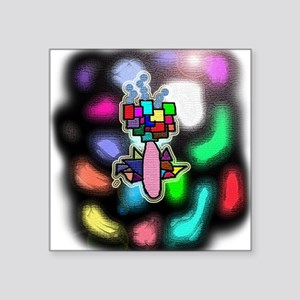 "RoSeS Square Sticker 3"" x 3"""