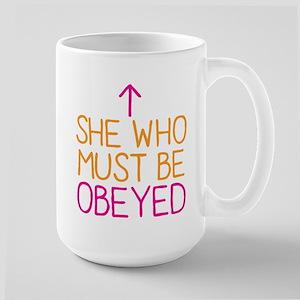 She who must be obeyed Mugs