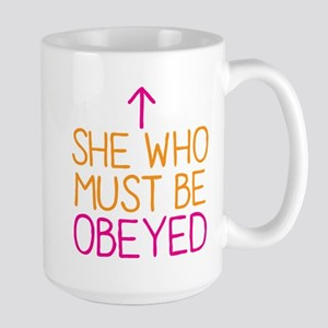She who must be obeyed Mugs