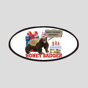 Honey Badger Happy Freakin' Birthday Patches