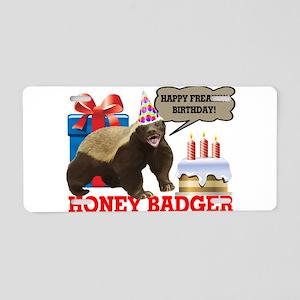 Honey Badger Happy Freakin' Birthday Aluminum Lice