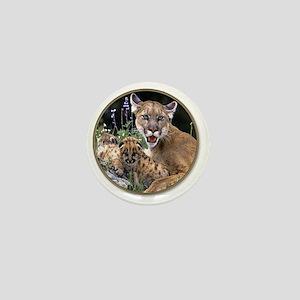 yule mt lions Mini Button