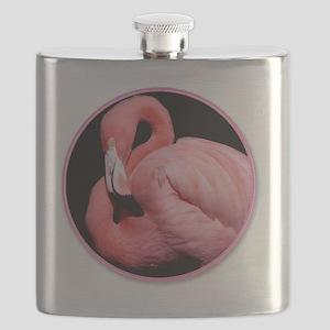 yule flamingo Flask