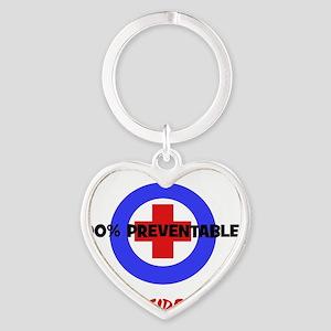 Reach Out Heart Keychain