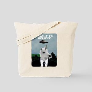 UFOs and Unicorns Tote Bag
