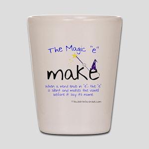 The Magic E Shot Glass