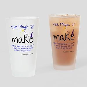 The Magic E Drinking Glass