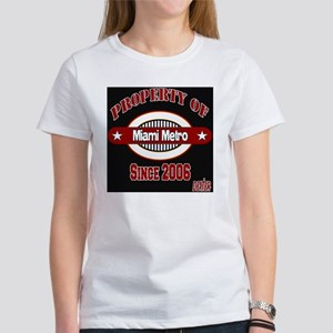 Property Of Dexter RED black Women's T-Shirt