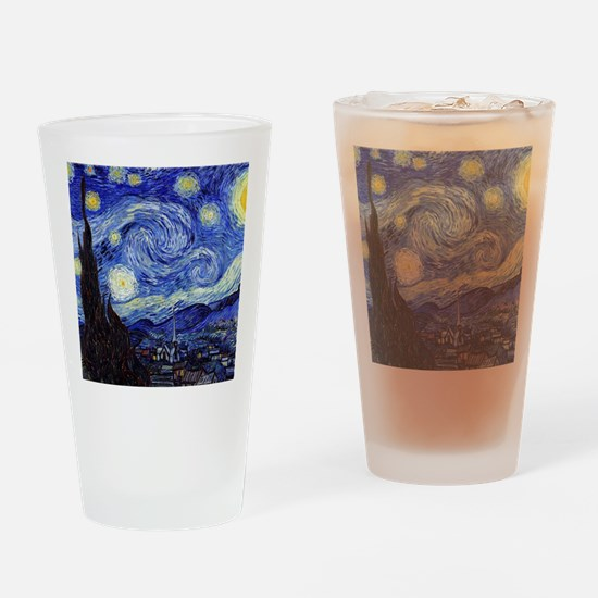 Starry Night by Vincent van Gogh Drinking Glass