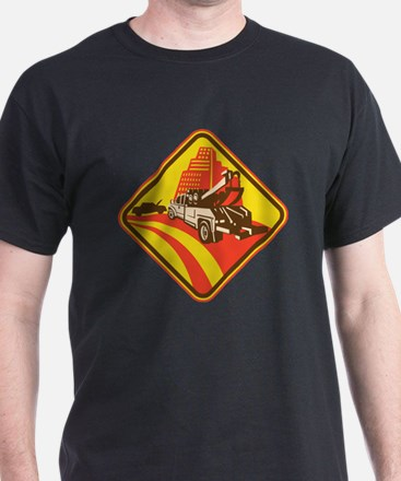 wrecker tow truck car T-Shirt