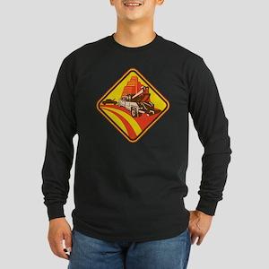 wrecker tow truck car Long Sleeve Dark T-Shirt