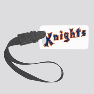 knights Small Luggage Tag