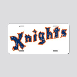 knights Aluminum License Plate