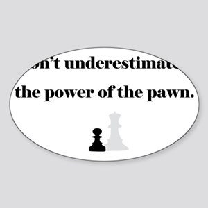 PowerPawn Sticker (Oval)