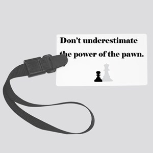 PowerPawn Large Luggage Tag