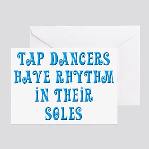Tap Soul quote Greeting Card