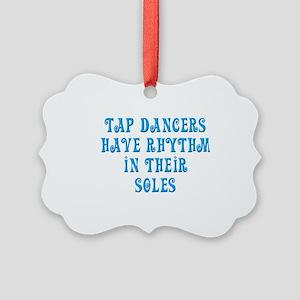 Tap Soul quote Picture Ornament