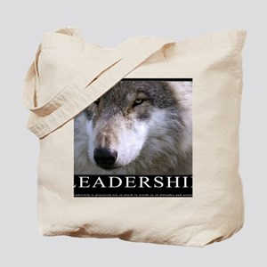 Leadership Motivational Poster Tote Bag