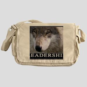 Leadership Motivational Poster Messenger Bag