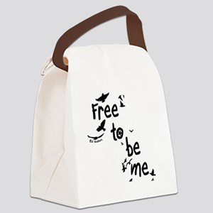 Free To Be Me Canvas Lunch Bag