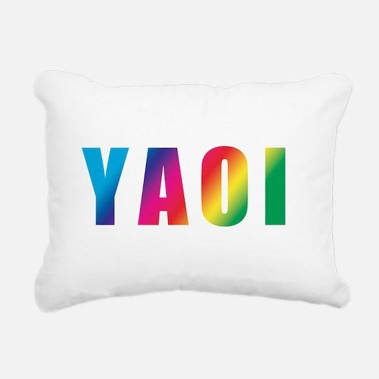 yaoi Rectangular Canvas Pillow