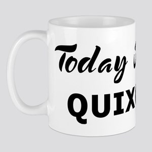 Today I feel quixotic Mug