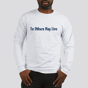 US Coast Guard Long Sleeve T-Shirt