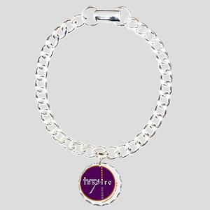 2010-SWM-Logo Charm Bracelet, One Charm