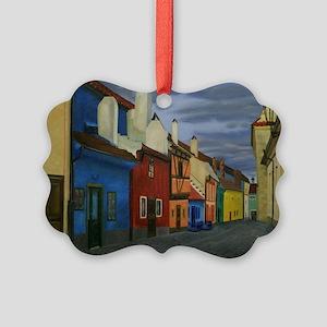 The Golden Lane Picture Ornament
