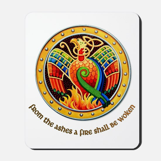 from the ashes Mousepad