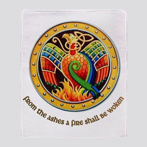 from the ashes Throw Blanket