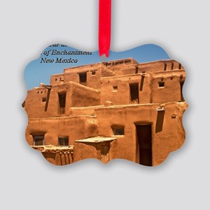 Taos11coverbig Picture Ornament