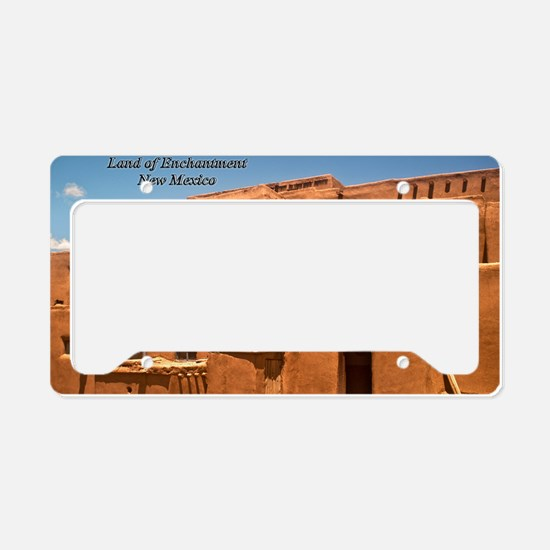 Taos11coverbig License Plate Holder