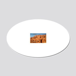 Taos11coverbig 20x12 Oval Wall Decal