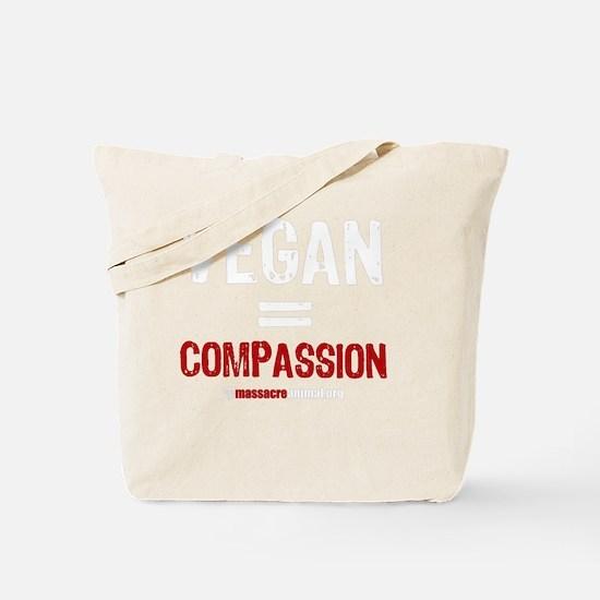 compassion-vegan-3 Tote Bag