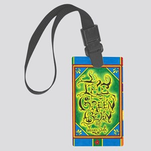 The Green Bean - Cover - Front Large Luggage Tag
