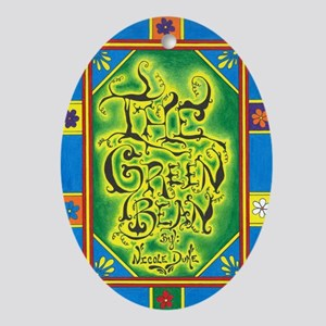 The Green Bean - Cover - Front Oval Ornament