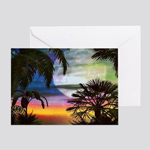 Tropical Nights Greeting Card